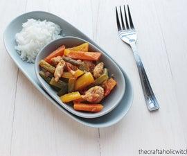 Spicy Chicken-Veggie Mix