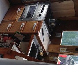 My Rebuilt Boat Galley