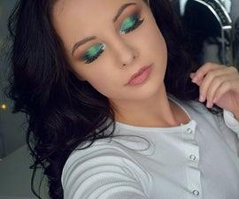 Green Ombre Smokey Eye