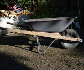 Resurrect an old wheelbarrow