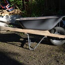Resurrect an old wheelbarrow