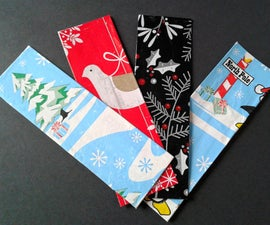 Wrapping Paper Bookmarks