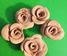 How to Make a Clay Rose