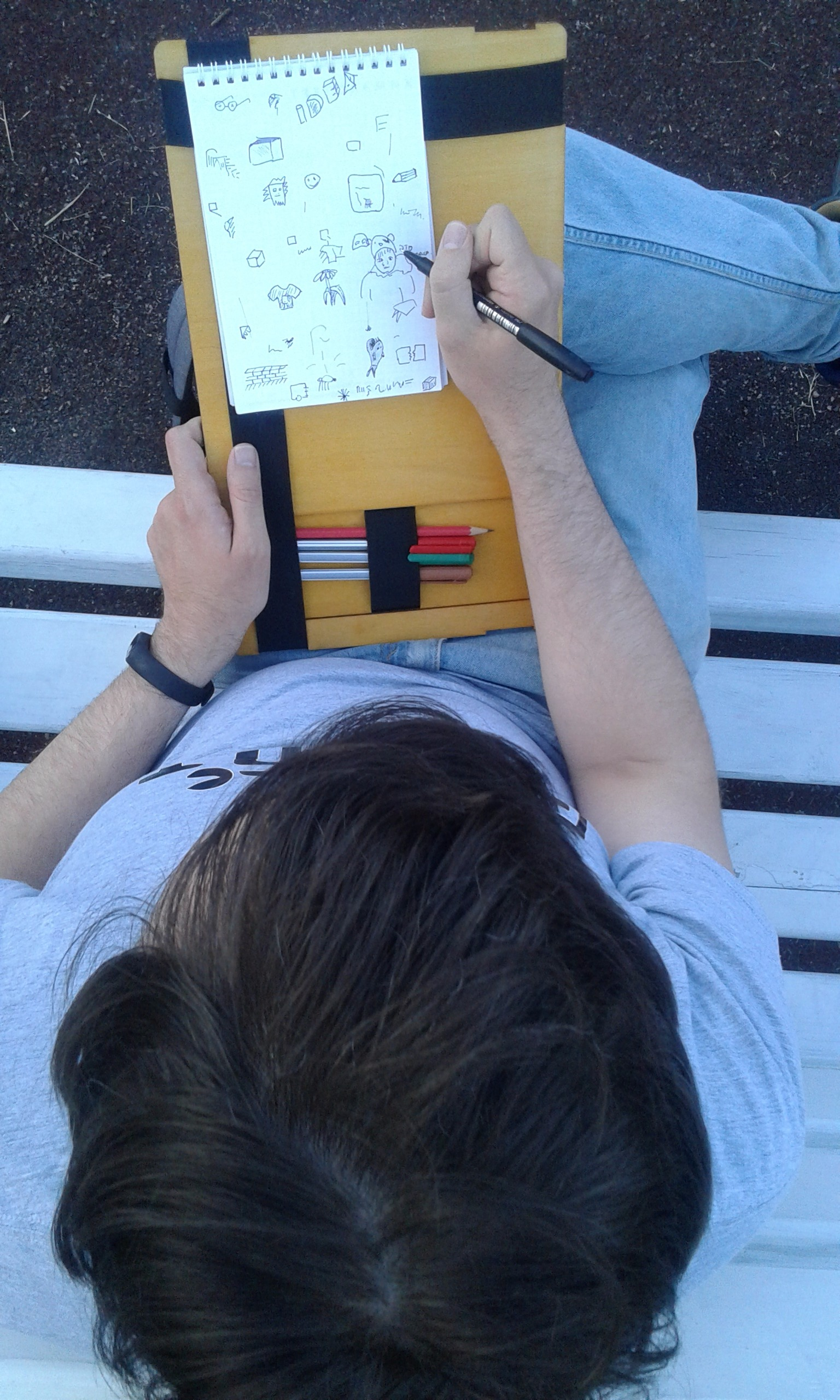 Picture of Portable Sketch Board