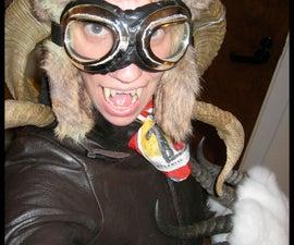 WWII Aviator Gremlin Costume