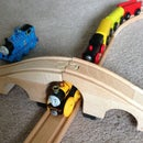 IKEA Basic Train Set and Thomas the Train Underpass Clearance