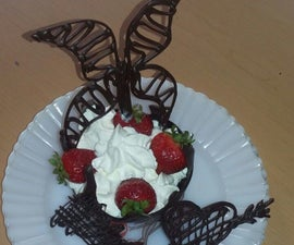 Chocolate Cup With 3D Shapes