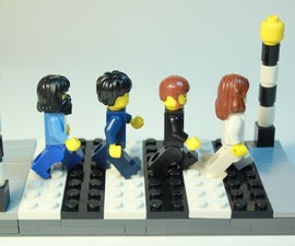Light-Up Beatles Abbey Road (Lego)