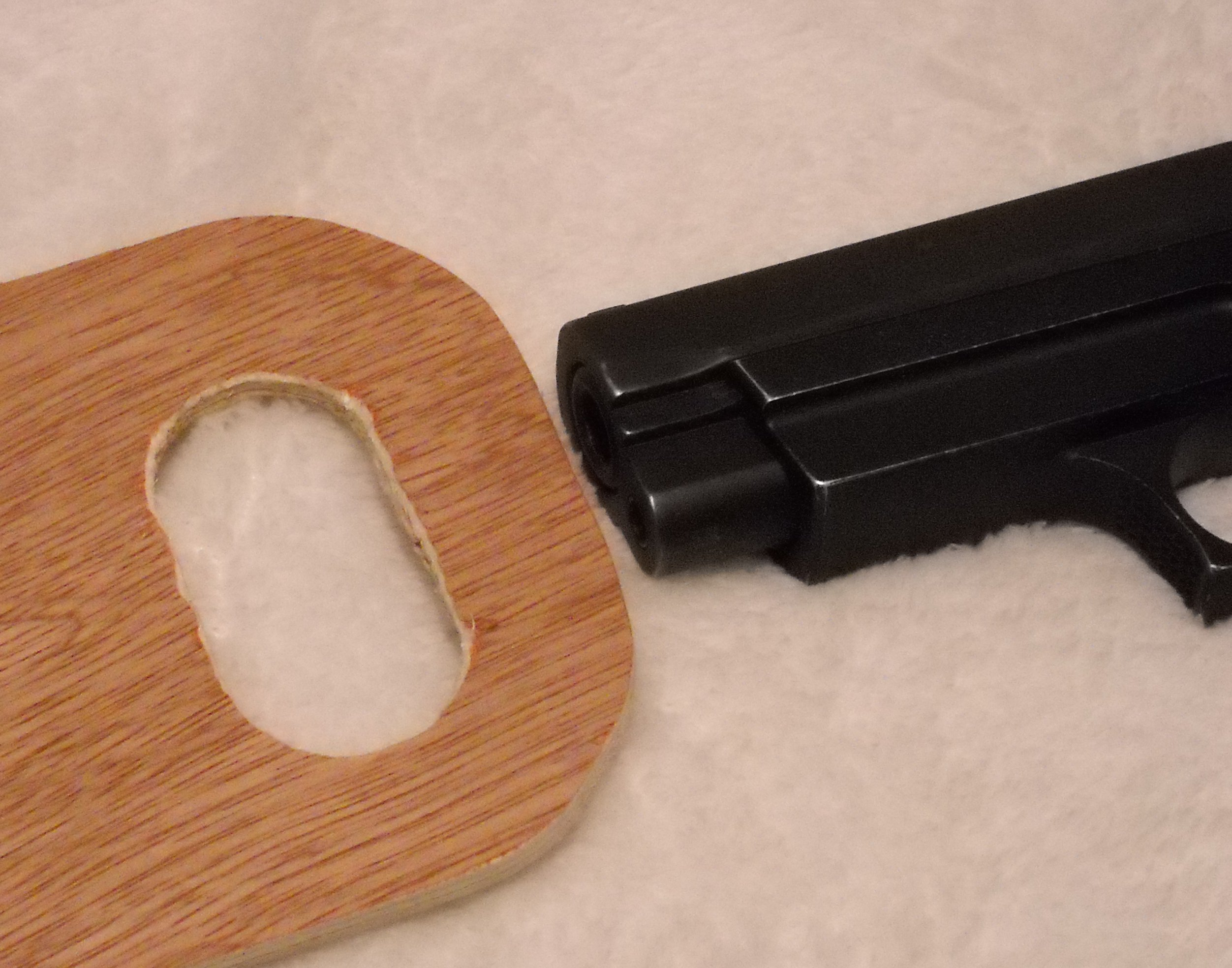 Picture of Cheap and Easy Bed Holster