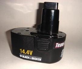 Hot Rodding a Power Drill Battery