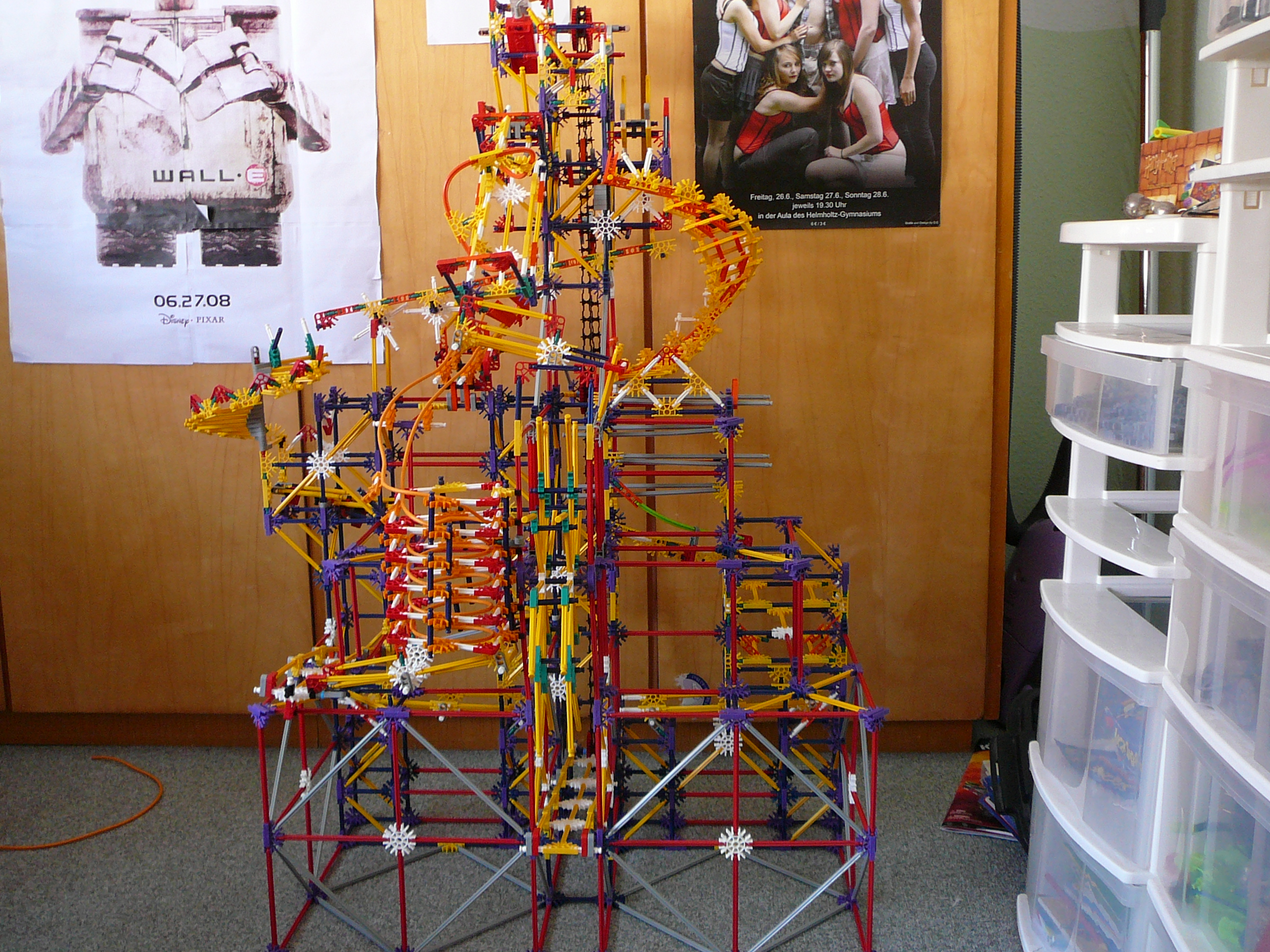 """Picture of How to Build Project """"Fab"""" Knex Ball Machine"""