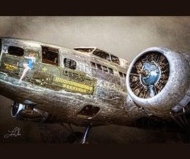 Aircraft HDR Photo Processing