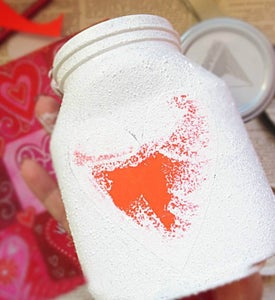 Cover the Jar With White Paint