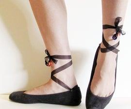 Ballet Shoe Makeover