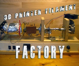 Build your own 3d printer filament factory (Filament Extruder)