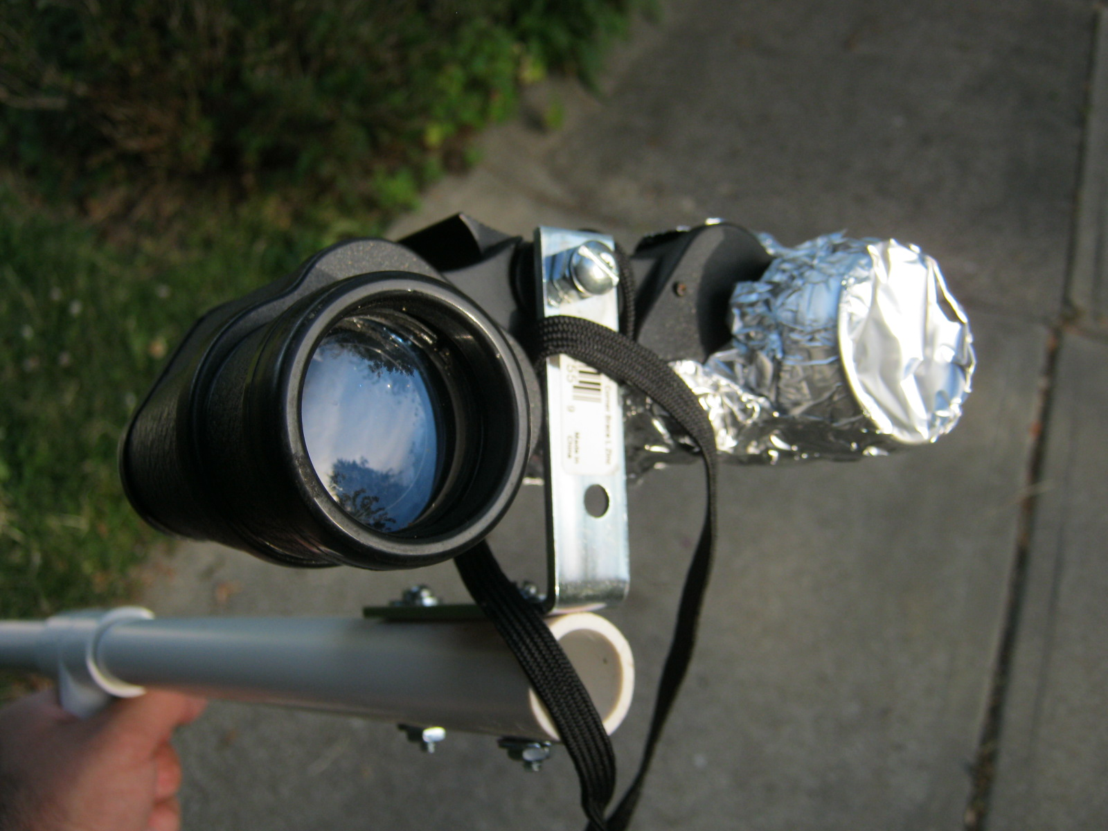 Picture of Cover Up One Binocular Lens