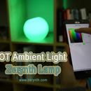 IoT Ambient Light: Zerynth Lamp