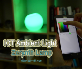 IoT Ambient Light: Zerynth Lamp