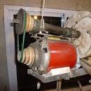 Calculating a pulleys based speed drive (Variador de velocidad a poleas)