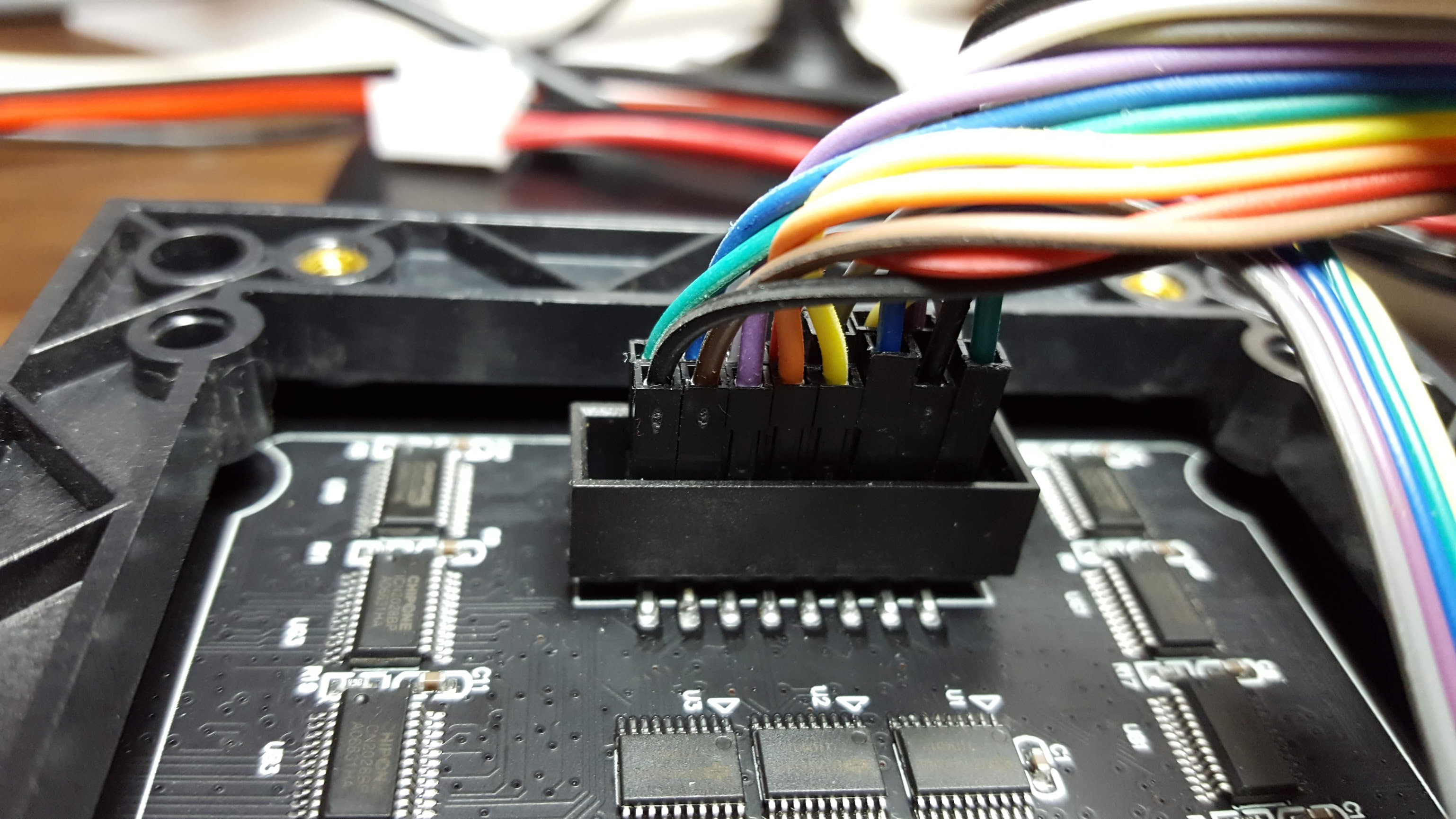 Picture of Matrix Wiring Part 1