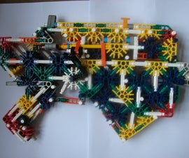 knex gears of war snub pistol and the new firing system of my chainsaw gun