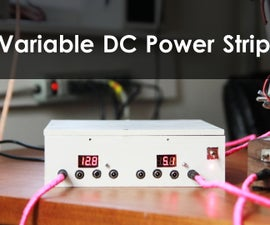DC Power Supply To Charge Your Phone & Small Electronic Devices