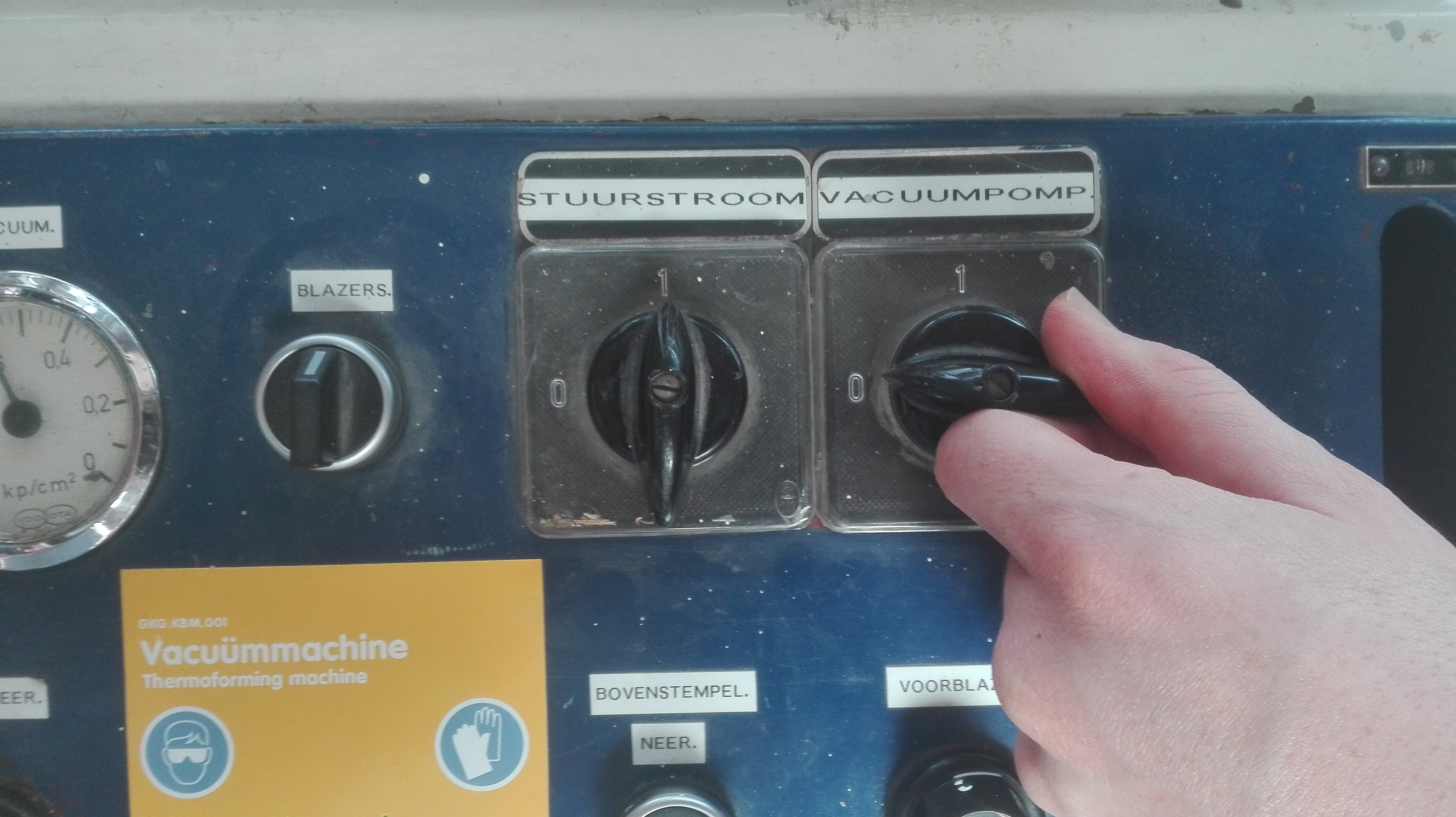 Picture of Turn on the Machine