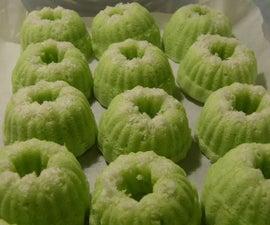 Fragrant Coconut Cakelets (Putu Ayu)