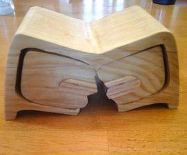 """Broken"" Bandsaw Box"