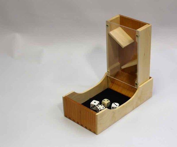 See Through Dice Tower