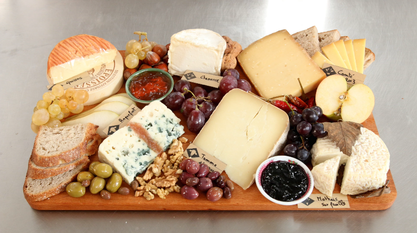 Picture of How to Make the Perfect Cheese Board for the Holiday