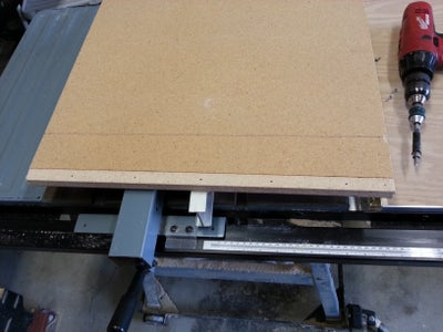 Cut Base, Top, Attach With Hinge, & Align
