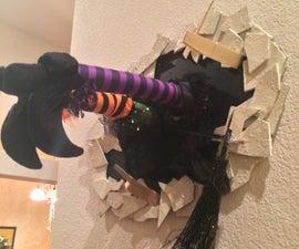 Tammy's version of the crashed witch in the wall