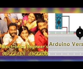 "Tone Generator ""Jimikky Kammal"" Using Arduino Pro Mini"