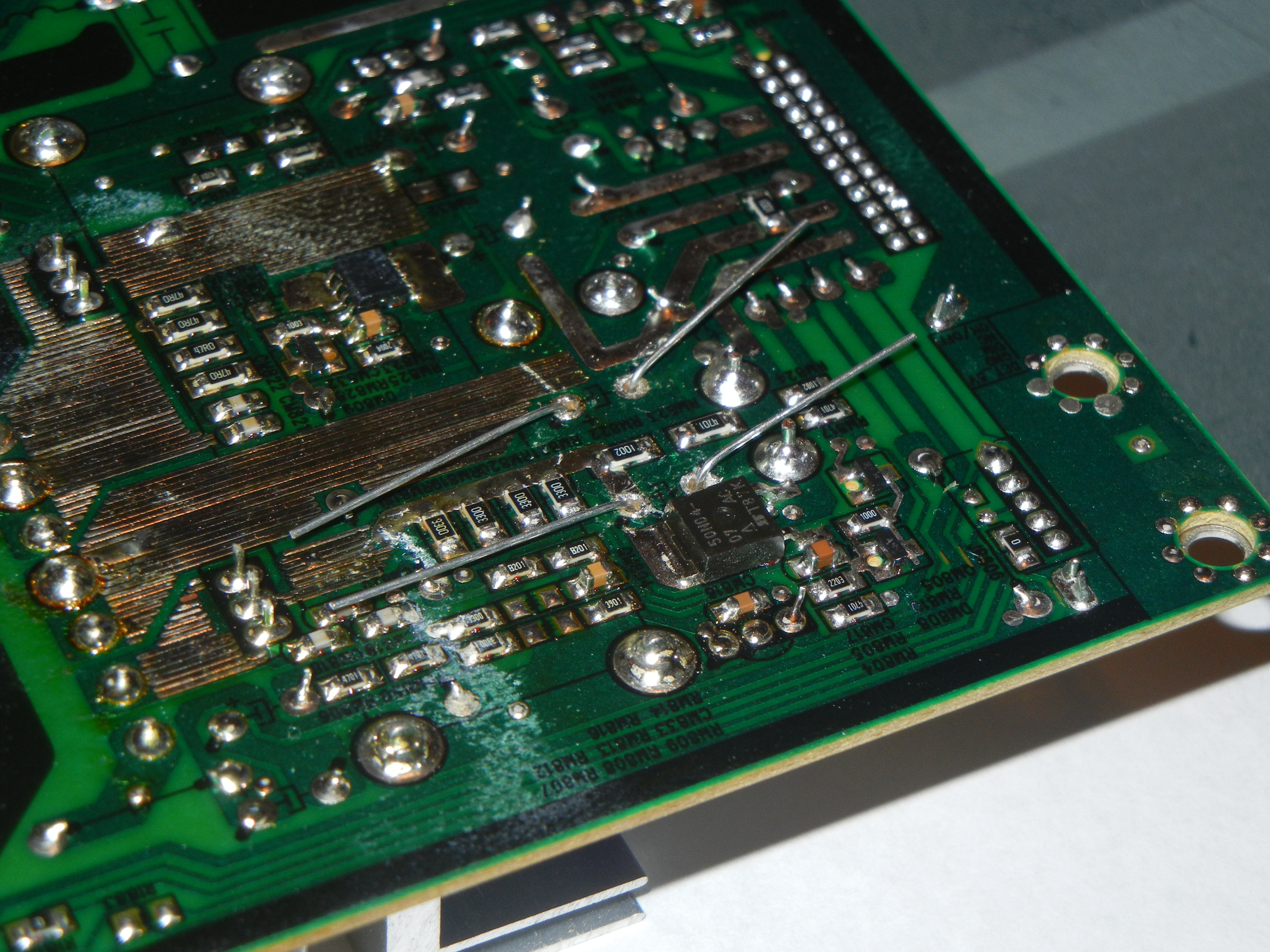 Picture of Replacing the Bad Capacitors
