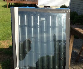 Aluminum Can Solar Heater