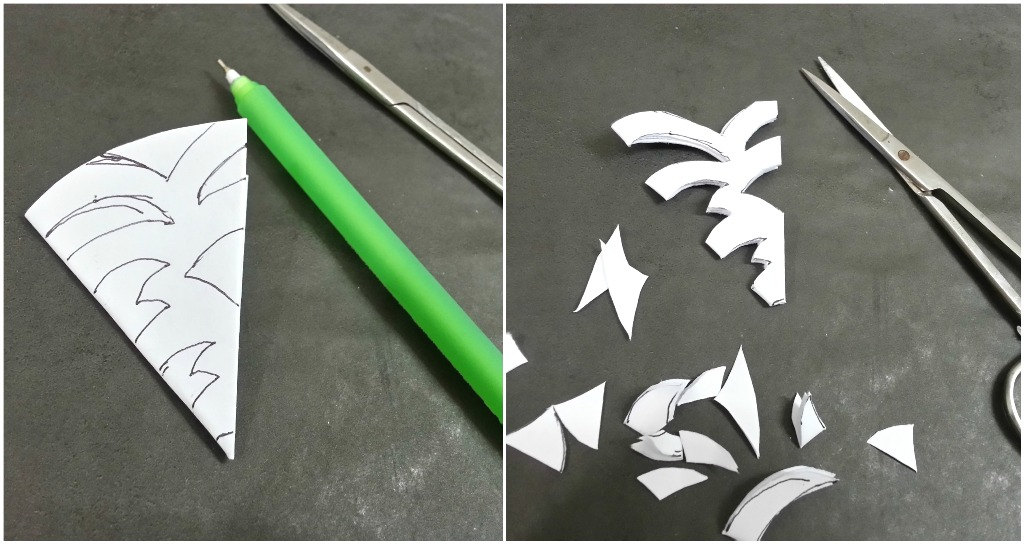 Picture of Cutting Snowflakes (or Any Pattern)