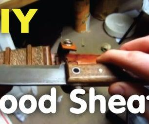 DIY Wood Knife Sheath