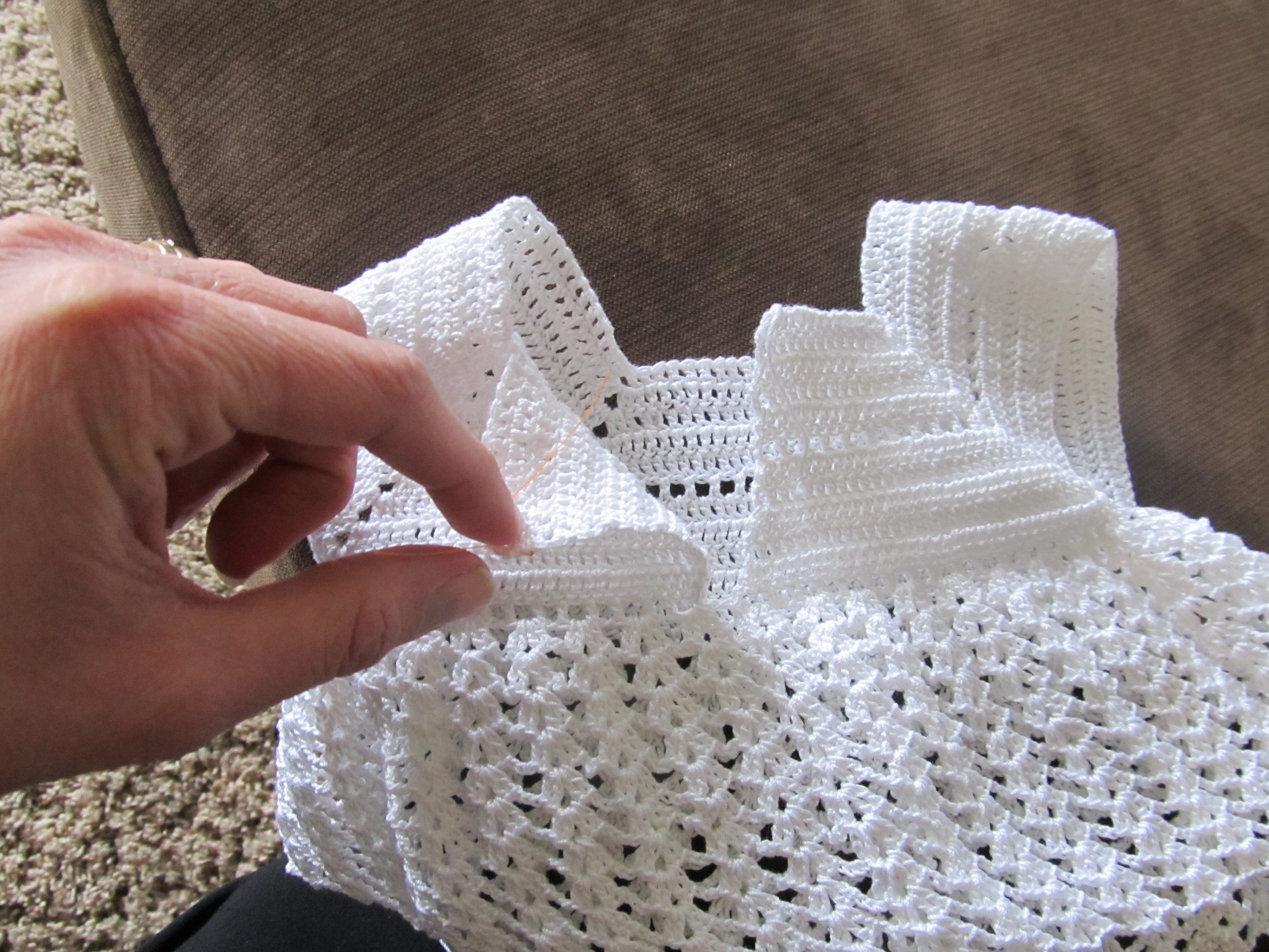 Picture of Beginning the Pattern & Cap Sleeve Alterations