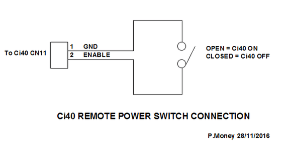 Using a Passive Rocker Switch