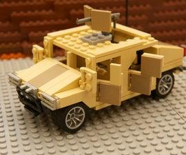 LEGO Military Humvee