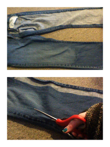 Scrap Jeans Will Add a Decorative Touch
