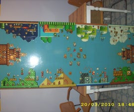 Super Mario Bros. 3 Beer Pong and Flip Cup Table
