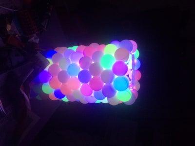 RGB Led Ping Pong Ball Lamp