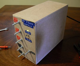 Another Benchtop Power Supply from PC Power Supply