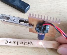 Diy Laser Burner Module From Old DvD'wr.