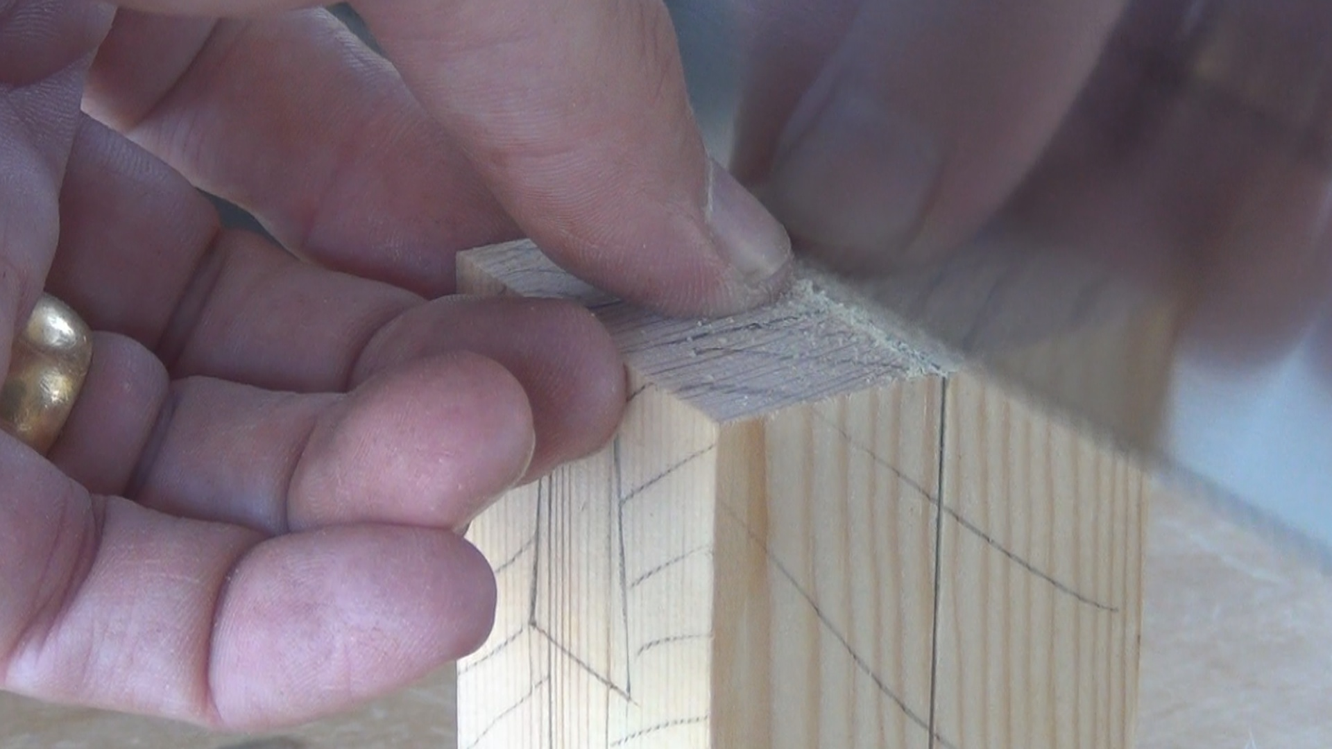 Picture of Cutting the Male Part