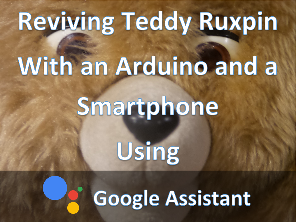 Picture of Phone+Arduino Controlled Teddy Ruxpin