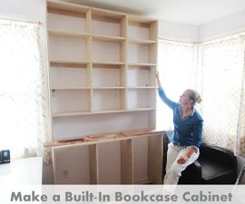 How To Make Built-In Bookcases