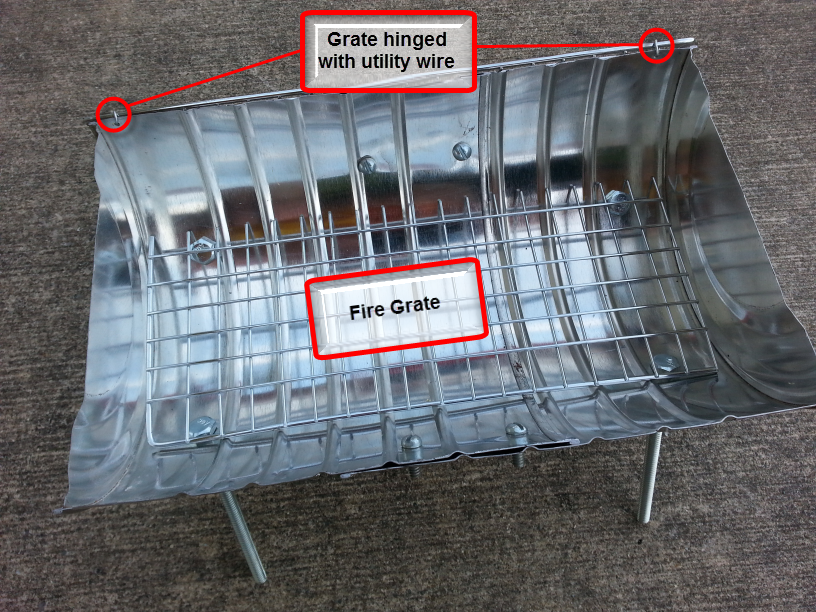Picture of Cut Fire Grate to Size